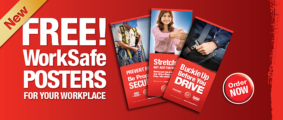 banner advertising worksafe posters