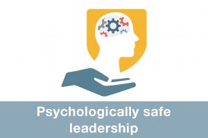 Psychologically safe leadership icon