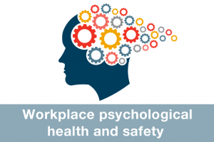 Workplace psychological health and safety icon
