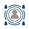 Involvement and influence icon